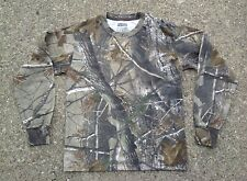 Russell RealTree Camouflage Long Sleeve Shirt ~ Youth S/M ~ Camo LS Real Tree