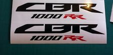 CBR 1000 RR x2 Honda Racing or 600 Fairing Decals Stickers GP RR SP1 Fireblade