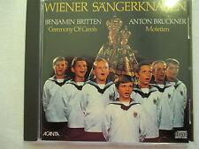 Britten Ceremony of Carols, Bruckner Motetten, Wiener Sängerknaben, Gillesberger