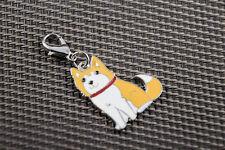 Dog Tag, Akita oder Shiba Inu Anhänger für Kette, Schlüsselbund, Armband etc.