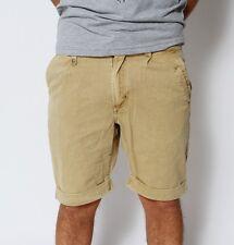 RVLT Revolution Anthony Herren Chino Shorts Bermuda Short Kurze Hose W28 khaki
