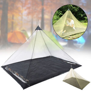 Outdoor Camping Mosquito Repellent Mesh Net Pyramid Tent Anti Insect Backpacking