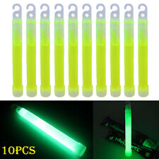 10pcs Industrial Grade Glow Sticks Light Stick Party Camping Emergency Lights