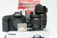 Canon EOS 7D Digitalkamera mit Canon Objektive und Batteriegriff