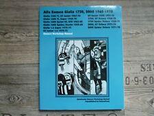 ALFA ROMEO Giulia 1750 + 2000 - 1962 - 1978 - Owners Workshop Manual - 2001