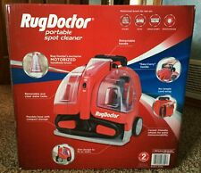 Rug Doctor Portable Spot Cylinder Carpet Cleaner Used Once Boxed +instructions