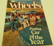 Feb 1982 WHEELS Magazine Honda CITY Laser Pulsar Corolla Gemini SAAB Mazda AUDI