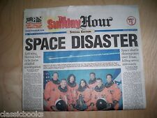 Ct The Hour Sunday February 2003 Newspaper Shuttle disaster!