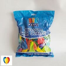 "Palloncini Tondi medium lattice atossici multicolore pastello 10"" - 100pz 72460"