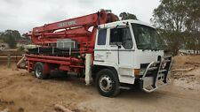 Mitsubishi 1993 FP 418F concrete boom pump truck