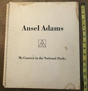 RARE Original 1950 Ansel Adams Signed 1st MY CAMERA IN THE NATIONAL PARKS Huge!!