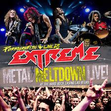 CD de musique live rock pour métal