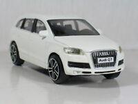 AUDI Q7 White 1:43 NEW Model Diecast Toy Car Models Cars Die Cast Metal