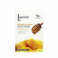 Lanocreme Manuka Honey Intensely Nourishing Revitalising Formula Face Mask NIB 5