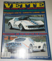 Vette Magazine Turbine Vette & SCCA Road Racer January/February 1980 080814R
