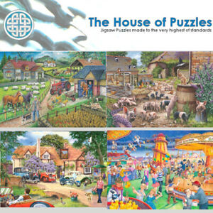 250 BIG Piece Jigsaw, House of Puzzles, The Full Range of Big 250 Pieces