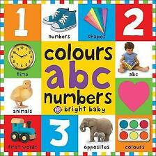Colours ABC Numbers by Roger Priddy (Board book, 2015)