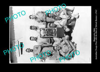 OLD LARGE HISTORIC PHOTO MAGAZZENO ITALY THE AUSTRALIAN RATS OF TOBRUK 1942