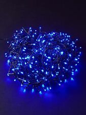 80 LED BLUE CHRISTMAS LIGHTS XMAS PARTY TREE INDOOR OUTDOOR CHASERLIGHTS