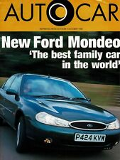 Autocar Ford Mondeo 2.0 Ghia Road Test reprint October 1996