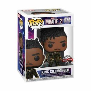 What If - King Killmonger Pop! Vinyl [RS]-FUN56264-FUNKO