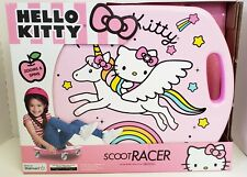 Scoot Racer Hello Kitty Scooter Board with Casters for Kids