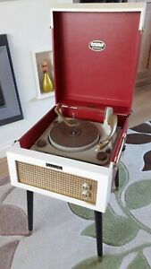 Fab DANSETTE MAJOR DELUXE RECORD PLAYER WITH LEGS Fully Refurbished