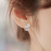 Elegante Damen Strass Ohrringe-doppelseitige Wassertropfen O9G6 K9V3 SS; X8G3