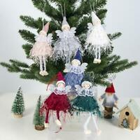 Christmas Angel Doll Ornaments Xmas Tree Hanging Pendant Party Decoration Gift
