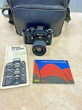 Nikon F3 35mm SLR Film Camera Body with 35-70mm lens and bag