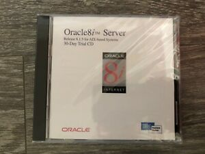 Oracle8i Server 8.1.5 for AIX Trial CD Rare Brand New