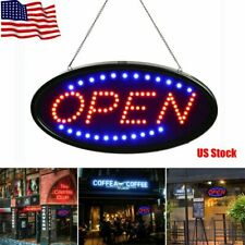 Led Neon Light Animated Motion with On/Off Flash Open Business Door Sign Bright