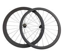 25mm Width Ceramic Bearing Wheel 38+50mm Clincher carbon road bike racing wheels