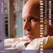 12-CD SCHUBERT - WORKS FOR FORTEPIANO - JAN VERMEULEN (2014) (CONDITION: NEW)
