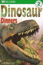 DK Readers: Dinosaur Dinners Beginner Reading Level 2 by Lee Davis Paperback