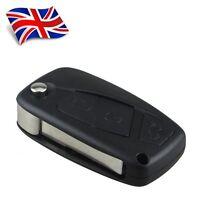 *New 3 Button Flip Key Case shell For FIAT PANDA IDEA PUNTO STILO DUCATO **A44**