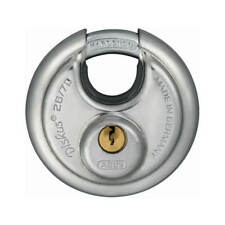 ABUS 28/70KD Diskus 2-3/4 in. Dics Shape Keyed Different Padlock