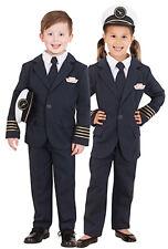 Qantas Pilot Captain Uniform Boys Girls Costume