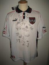 Autria SIGNED Osterreich football shirt soccer jersey trikot fussball size XL