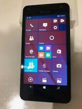 Microsoft Lumia 550 8GB Windows 10 Mobile Phone-Black **Unlocked**