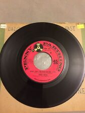 "Daniel Boone - Daddy Don't You Walk So Fast - 7"" Vinyl Record - 45 RPM"