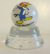 WOODY WOODPECKER CARTOON CHARACTER ON WHITE PEARL MARBLE