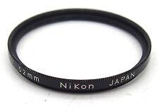 Nikon L37C 52mm UV Screw In Filter #5347