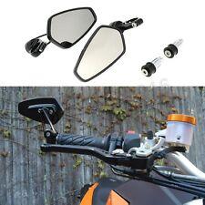 New Black Arrow Bar End Side Mirrors Set Custom For KTM 1290 1190 990 Super Duke