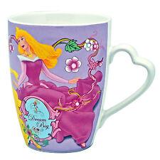 Tazza Ceramica C/Strass Disney Principessa Principesse Cenerentola Bella Aurora