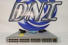 Cisco N3K-C3048TP-1GE Reverse Air Switch N3K-C3048-FAN-B N2200-PAC-400W-B JWA