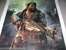 Dragon Age Inquisition Followers VARRIC Lithograph Print Limited Edition #128