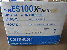 Omron ES100X-AAH Digital Controller 100-240VAC 50/60 Cycle ES100X NEW!!! in Box