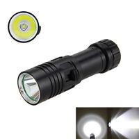 Diving 5000LM XM-L U2 LED Flashlight Torch Scuba Light Lamp 26650+Charger Set