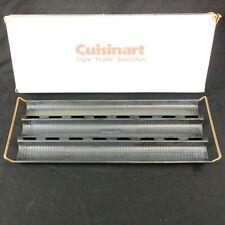 Cuisinart Triple Ficelle Bread Baking Pan FP-746 1977 Baguettes Breadsticks